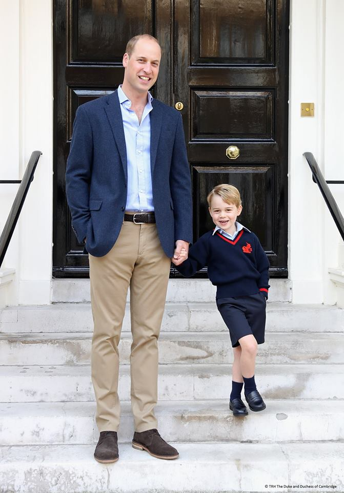 CNN World News Actuality Prince George starts school in